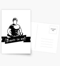 Thanks To You Postcards