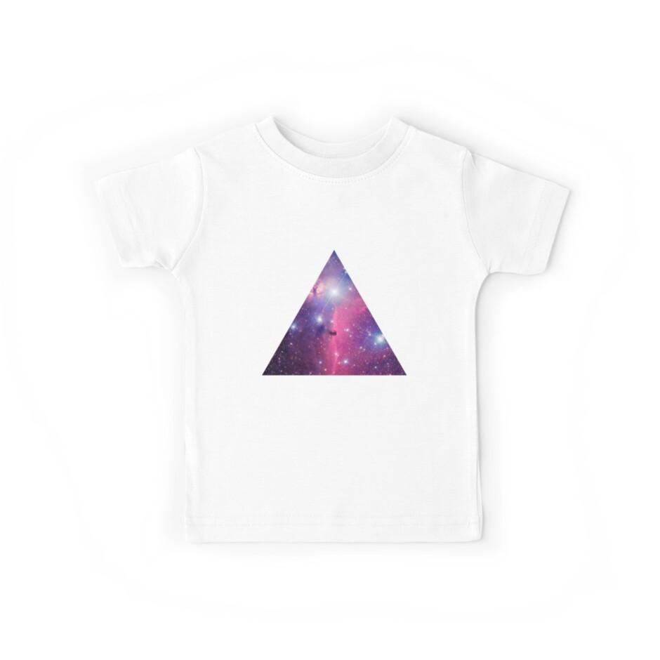 Purple Galaxy Triangle by rapplatt