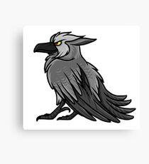 Druid Cuties - Worgen Raven Canvas Print