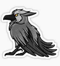 Druid Cuties - Worgen Raven Sticker