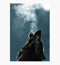 Knight Artorias - The Wolf And The Abyss Photographic Print