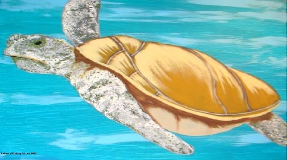The Sea Turtle by Rebecca Frisbee