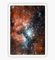 Red Galaxy 2.0 Sticker