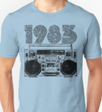 1983 Boombox Unisex T-Shirt