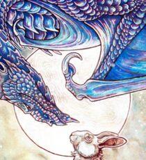 The Dragon & The Rabbit Sticker