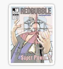 New York Comic Con Poster Contest Sticker