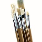 Artist's Brushes by Crystal Zacharias