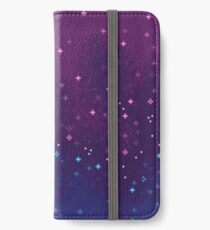 Bi Pride Flag Galaxy (8bit) iPhone Wallet/Case/Skin