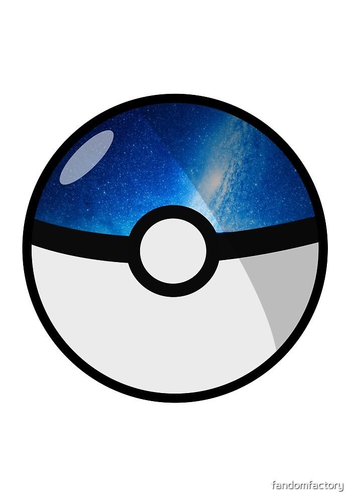 Space Pokeball by fandomfactory