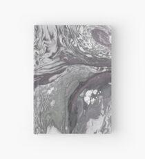 Texture de marbre en sourdine Carnet cartonné