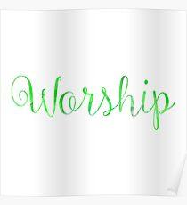 Worship Poster