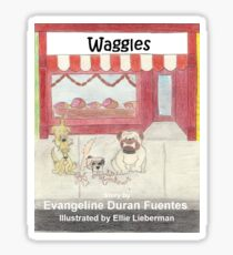 Waggles Cover Sticker
