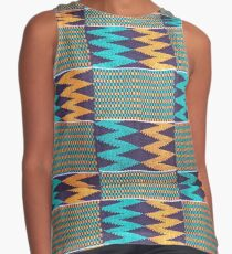 Colours of Africa (10) of a series of African Colours, KENTE Contrast Tank