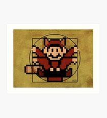Mario from Vitruvius Art Print