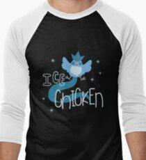 Ice Chicken Men's Baseball ¾ T-Shirt
