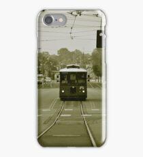 Vintage Main St Trolley  iPhone Case/Skin