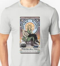 Silence Will Fall: The River's Pietà Unisex T-Shirt