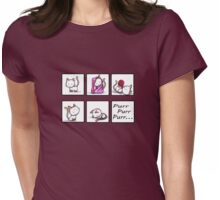 Soft Kitty, Warm Kitty Womens Fitted T-Shirt