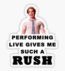 Benji - Performing Live Quote Sticker