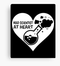 Mad Scientist at Heart Canvas Print