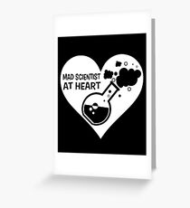 Mad Scientist at Heart Greeting Card