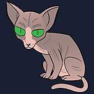 Sphynx Cat Love! by Mel Albino