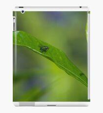 Fly on a Leaf iPad Case/Skin