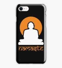 Buddha Rising Sun Namaste iPhone Case/Skin