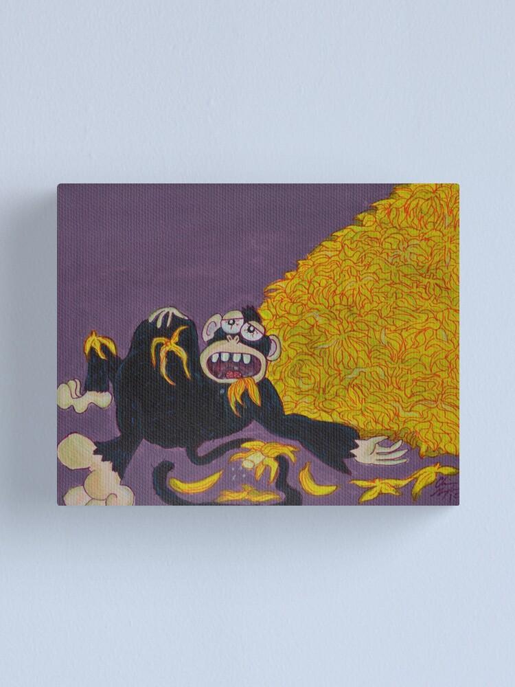 Alternate view of Gluttony Canvas Print