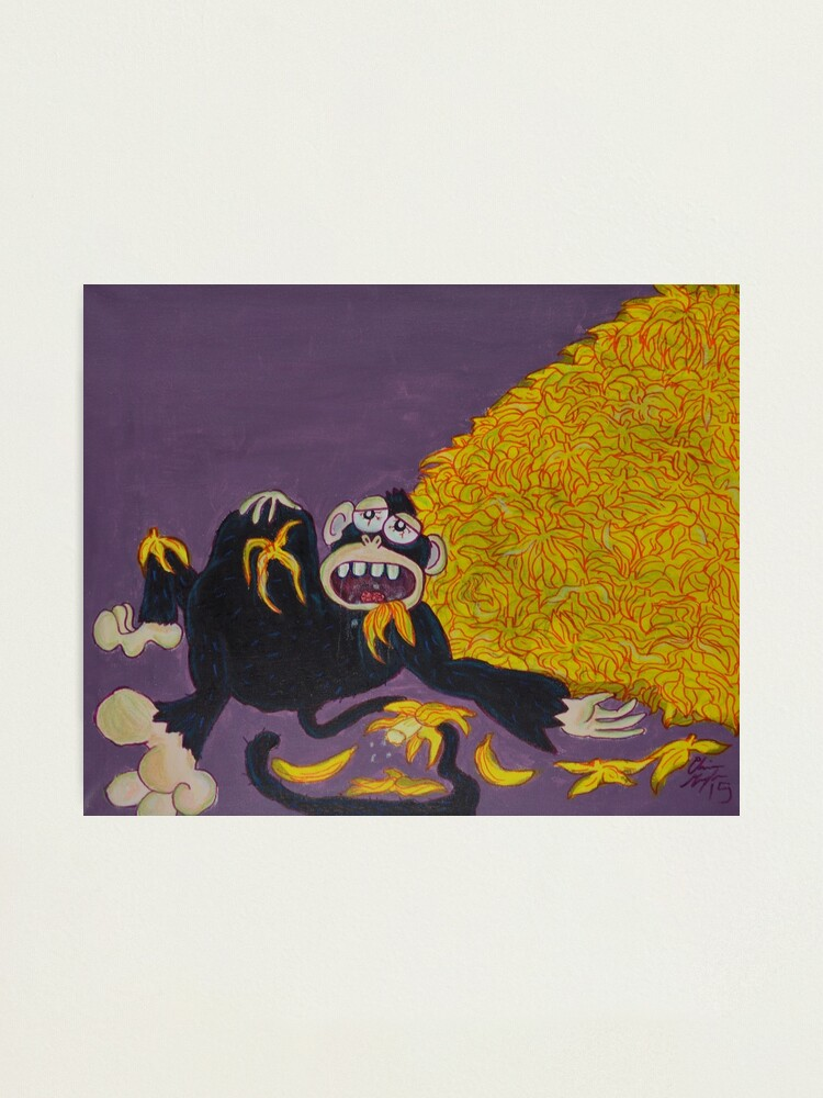Alternate view of Gluttony Photographic Print