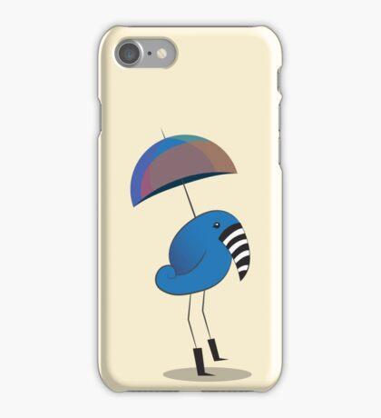Walking in the Rain iPhone Case/Skin