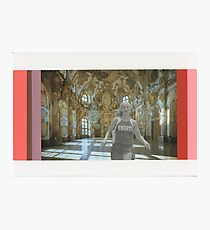 Runners 2 (Hall of Mirrors) Photographic Print