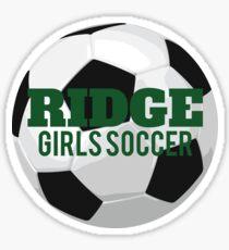 Ridge Girls Soccer Sticker