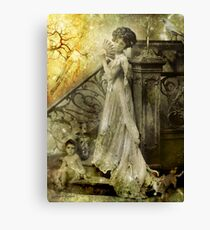 If Only They Really Knew Me (Art & Poetry) Canvas Print