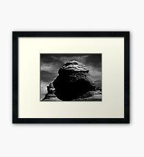 Entrada Sandstone Formations Framed Print