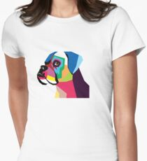 boxer  Women's Fitted T-Shirt