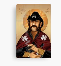 Saint Lemmy Canvas Print