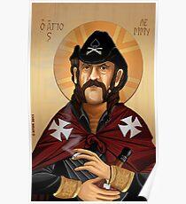 Saint Lemmy Poster