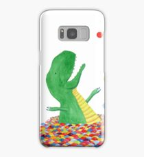 Tyrannosaurus just wants to have fun Samsung Galaxy Case/Skin