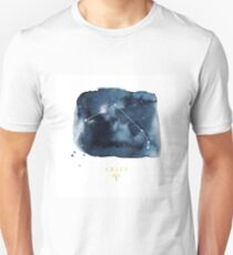 Aquarius Zodiac Constellation Unisex T-Shirt