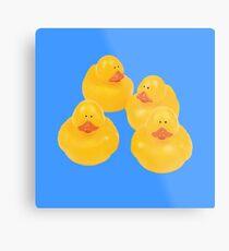 quack quack quack ! Metal Print
