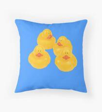 quack quack quack ! Throw Pillow