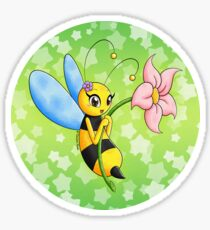 Alya and the 4 seasons - spring Sticker