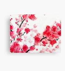 Cherry Blossoms II Canvas Print