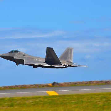 F-22 Liftoff by mattjwett773