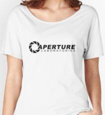 Portal 2: Aperture Science Logo Women's Relaxed Fit T-Shirt