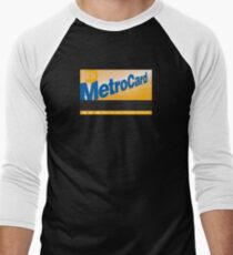 New York, New York Men's Baseball ¾ T-Shirt
