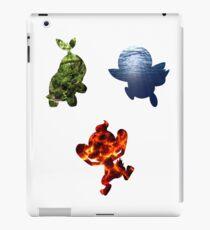 Sinnoh Starters iPad Case/Skin