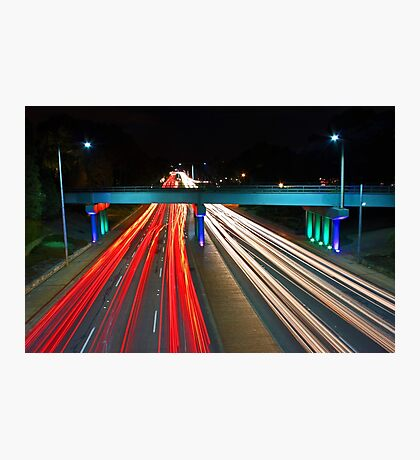Peak Hour Traffic  Photographic Print