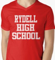 Grease - Rydell High School Men's V-Neck T-Shirt